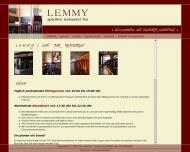 Bild Webseite Gaststätte Restaurant - Lemmy Köln