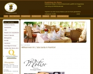 Bild Webseite Osteria Lisola Sarda Frankfurt