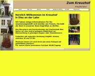 Bild Webseite Hotel Zum Kreuzhof Aull