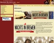 Bild Bremer Ratskeller - Der Bremer Ratskeller unterirdisches Reich vom ...