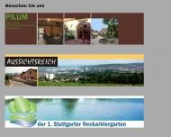 Bild Webseite Gaststätte Restaurant - Aussichtsreich Stuttgart