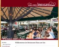 Bild Webseite Haus am See Stuttgart