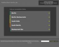 Bild Webseite die Haifischbar Gaststätte Berlin
