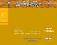 Bild Webseite Restaurant Taverna Sirtaki Berlin