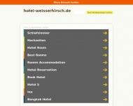 Bild Webseite Gaststätte Restaurant - Weißer Hirsch Lübeck