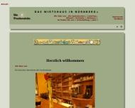 Bild Webseite Frankenstube Nürnberg