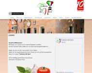 Bild Webseite Gaststätte Restaurant - Trattoria Del Nord Nürnberg