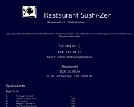 Website Haguruma japanisches Restaurant