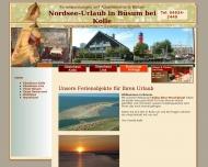 Bild Webseite  Büsum