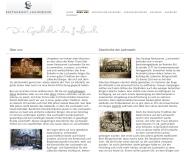 Website Historische Gaststätte Lachswehr, Restaur., Cafe Weinst.Inh.Roland Bethke