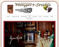Bild Webseite Wengerstüble , Inh. Reinhold Digel Reutlingen