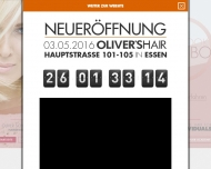 Bild Webseite Crescut Haar und Schönheit Düsseldorf