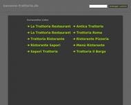 Bild Webseite Trattoria Sansone Düsseldorf