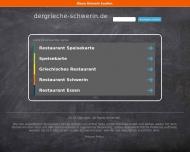 Bild Webseite Der Grieche Spezialitäten Restaurant Schwerin