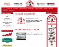 Bild Webseite Waterloo Biergarten Hannover