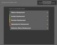 Bild Webseite Alborz Persisches Restaurant Hannover