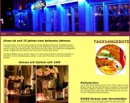 Bild Webseite DIVAN Grillrestaurant Dortmund