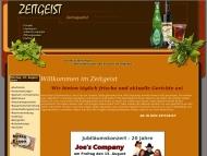 Bild Webseite Zeitgeist Dresden