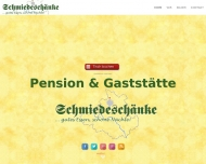 Bild Webseite Gaststätte und Pension Schmiedeschänke Dresden