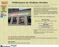 Website Thaihaus Dresden