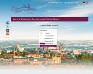 Bild Webseite Wilder Mann Gaststätte Dresden