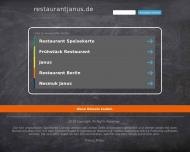 Bild Webseite Janus Biergarten-Restaurant Berlin
