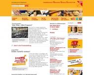 Bild Webseite Gewerkschaft Nahrung-Genuss-Gaststätten Hamburg