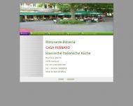 Bild Webseite CASA Ferraro Hamburg