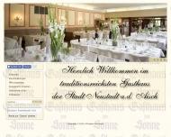 Bild Webseite  Neustadt an der Aisch
