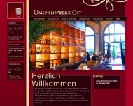 Bild Webseite Restaurant Umspannwerk Ost Berlin