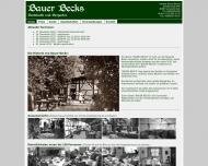 Bild Gaststätte Restaurant - Bauer Becks