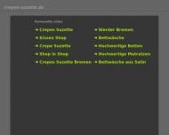 Bild Webseite Crépes Suzette Bremen