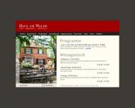 Bild Haus am Walde Restaurant Café Biergarten
