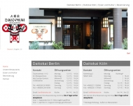 Bild Webseite JFC Restaurant Berlin