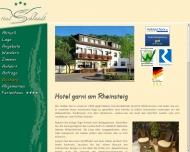 Bild Webseite  Bornich