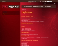 Website Pizza Hut Restaurant