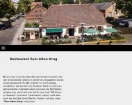 Bild Webseite Zum Alten Krug Bremen