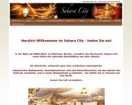 Bild Webseite Gaststätte Restaurant - Sahara City München