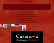 Bild Webseite Pizzeria Casanova Freiburg im Breisgau