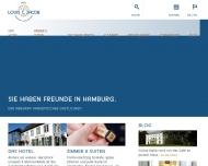 Bild Webseite Louis C. Jacob Hamburg