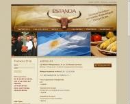 Bild Webseite Estancia Restaurant Dresden