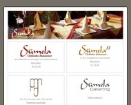 Bild Webseite Sümela Türkisches Restaurant Frankfurt