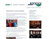 Bild Webseite Gaststätte Restaurant - Kuckuck Osteria Augsburg