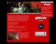 Bild Webseite Gloria Cafebar Inh. Falco Wambold Hamburg