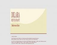 Bild Webseite Restaurant Dilara Hamburg