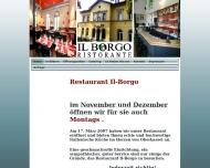 Bild Webseite Il-Borgo Ristorante Bonn
