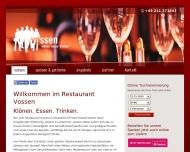 Kl?nen. Essen. Trinken. Restaurant Vossen D?sseldorf