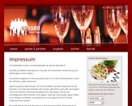 Website Gaststätte Vossen