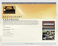 Bild Webseite Karawane Restaurant Bonn