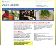 Bild Webseite Zwölf Apostel Düsseldorf